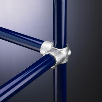 Rohrverbinder Rohrverbinder Eckstück mit durchgehender Stange (116)
