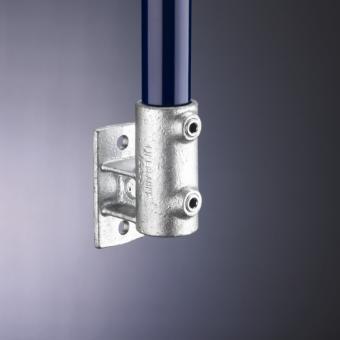 Rohrverbinder Wandhalterung Platte vertikal (144)