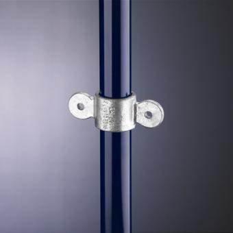 Rohrverbinder Gelenkauge doppelt 180° (167M)